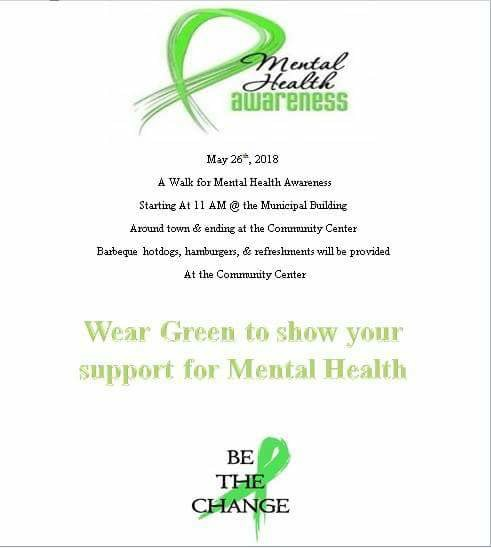 Walk for Mental Health Awareness in the Town of Main Brook, NL
